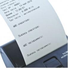 Принтер к алкотестерам Динго Е-200, Динго Е-200 (B)
